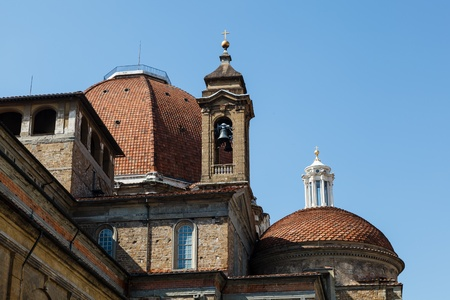 Medici Chapels in the San Lorenzo Church in Florence, Tuscany, Italy Stock Photo