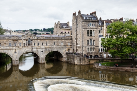 Pulteney Bridge, Bath, Somerset, England, UK photo