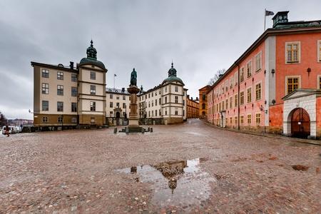 Birger Jarls Square in Riddarholmen  part of Gamla Stan , Stockholm, Sweden photo