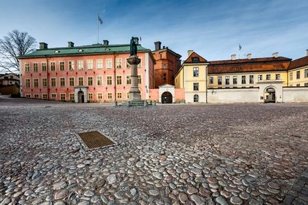 Birger Jarls Square in Riddarholmen (part of Gamla Stan), Stockholm, Sweden photo
