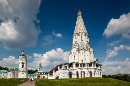 ascension: Church of the Ascension in Kolomenskoye, Moscow, Russia Stock Photo