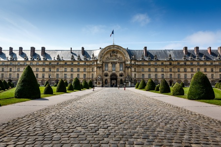 les: Les Invalides War History Museum in Paris, France