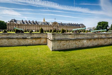 invalides: Les Invalides War History Museum in Paris, France