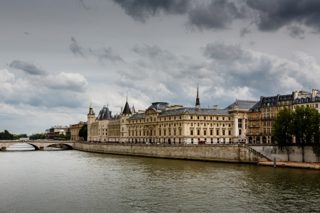 La Conciergerie, a Former Royal Palace and Prison in Paris, France photo