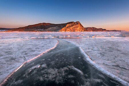 baical: Bay Uzur in the Morning, Olkhon Island, Lake Baikal, Russia