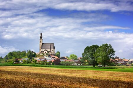 Church of the Assumption in Anger, Bavaria, Germany