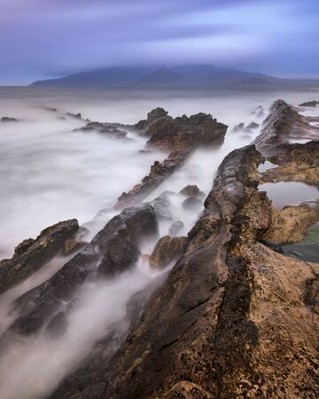 Rocky Beach in the Morning, Isle of Eigg, Scotland, United Kingdom