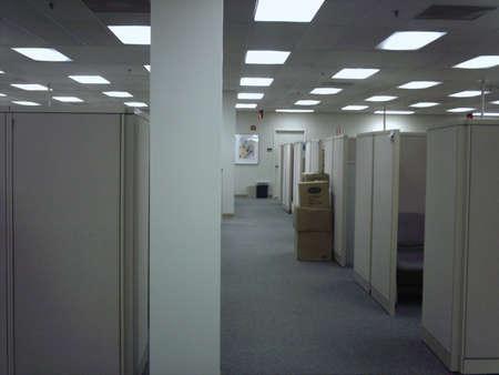 An empty place of work Reklamní fotografie