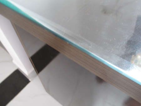 glass bevel edge for office table and multipurpose use
