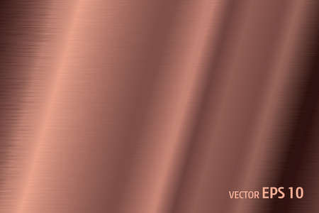 Copper texture surface vector