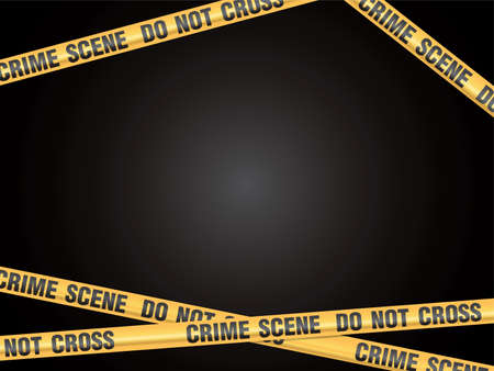 Crime Scene Do Not Cross vector
