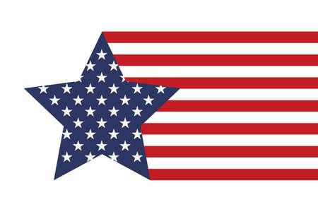 America style star 版權商用圖片
