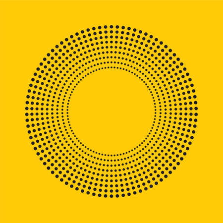 abstract background, halftone circle shaped.