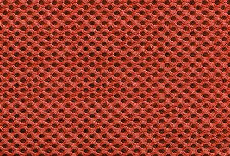 red fabric texture and background concept Banco de Imagens