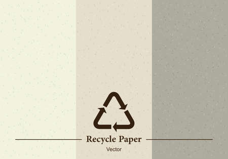 Recycle paper texture, background and wallpaper.
