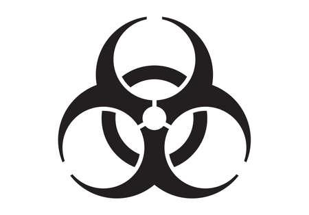 Bio hazard icon. Biohazard icon. Biohazard symbol.