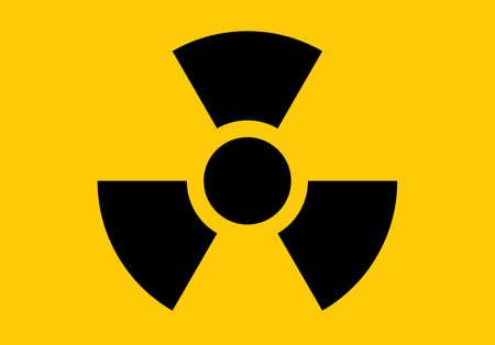 Radiation icon. Radiation symbol vector  イラスト・ベクター素材