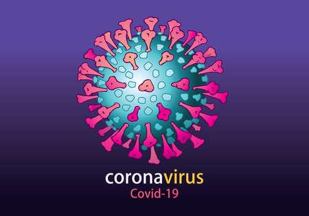 Sketch doodle coronavirus, corona virus, COVID-19, Hand-drawn style vector illustration