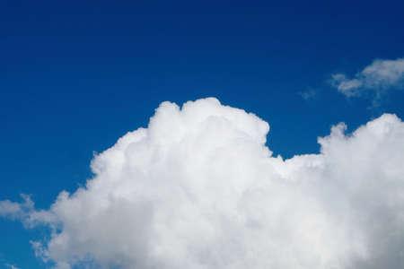 Blue Sky with white cloud Banco de Imagens