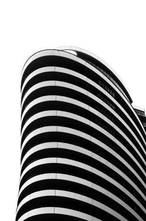 modern residential building at Docklands melbourne Australia photo