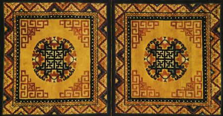 carpet flooring: traditional chinese textile and carpet pattern prints background