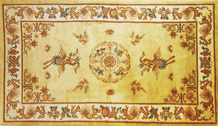 haulm: traditional chinese textile and carpet pattern prints background