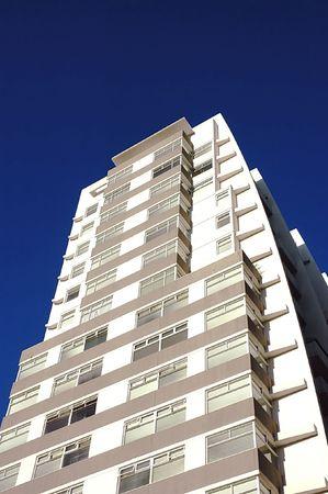 melbourne australia: residential building in melbourne cbd area australia