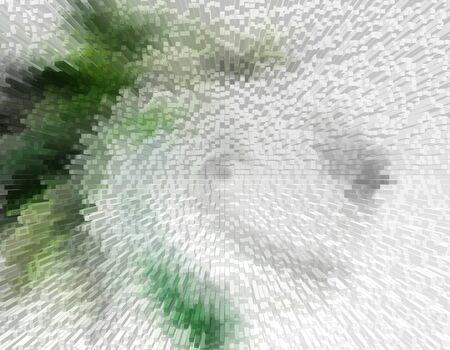 kaleidascope: computer 2d 3d abstract graphic art background wallpaper Stock Photo