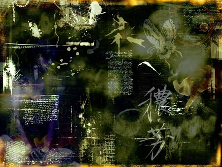 photomontage: abstract photomontage background graphic