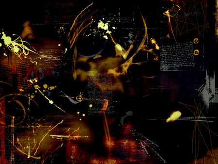 middleages: abstract montage design background