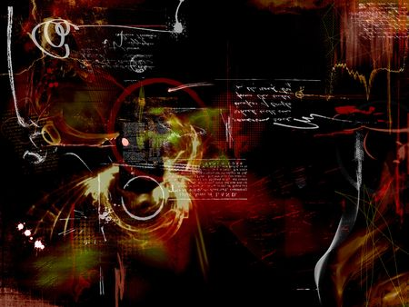 abstract montage design background photo