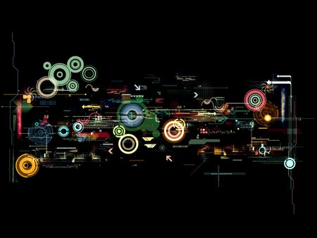 abstract graphic montage design wallpaper background poster