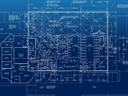architecture floor plan background Stock Photo - 739431