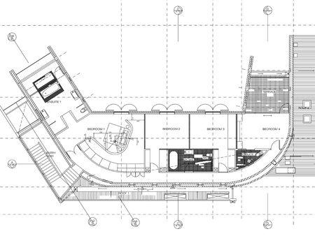 architecture floor plan background Stock Photo - 739432