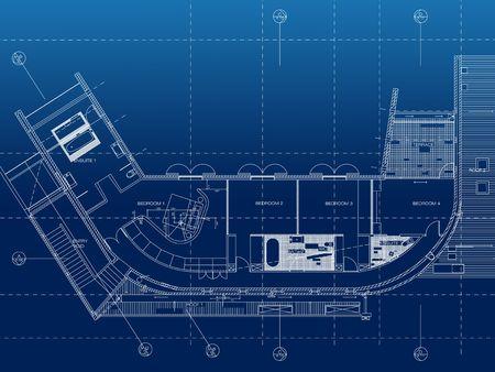 architecture floor plan background