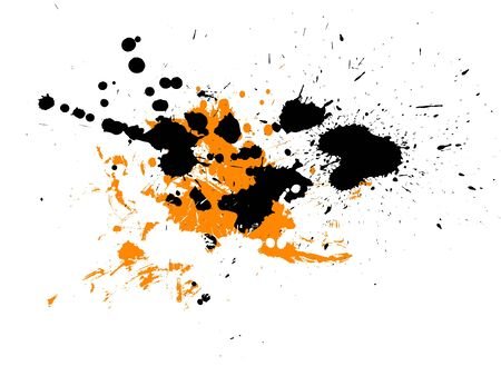abstract zen ink painting graphic photo