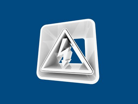 3D navigation icon  photo