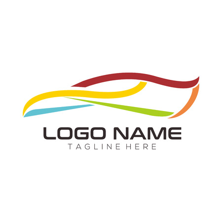 Automotive and repair logo design and icon for your business, company or personal branding Ilustracja