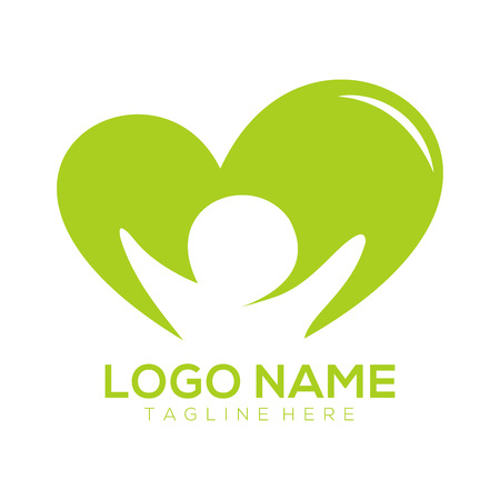 Children logo and icon design suitable for business, company, organization, and education.