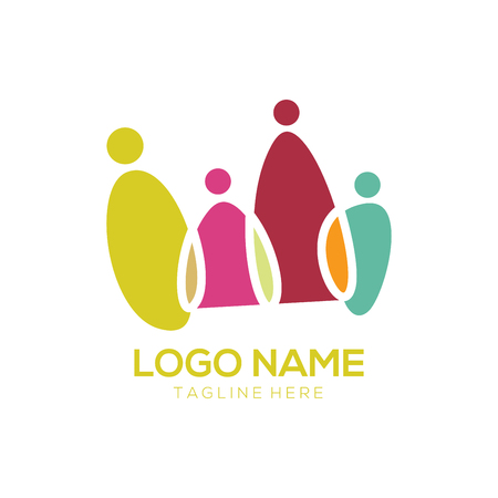 Community logo design and icon suitable for you business, company, community and personal branding