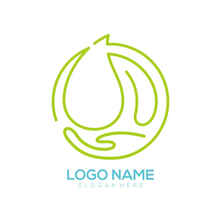 Environment logo and icon design suitable for your business, company and personal branding