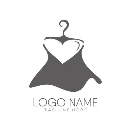 Diseño de logotipo e icono de moda femenina adecuado para su negocio, empresa o marca personal