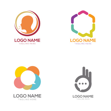 Communication logo and icon design for your business, company and personal branding