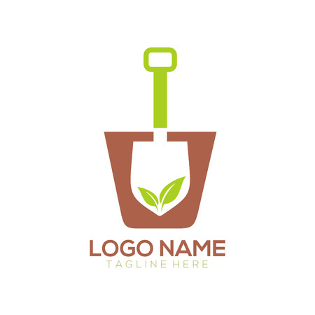 Landscape logo and icon design suitable for your business company and personal branding