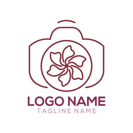 Photography logo and icon design suitable of your business, company and personal branding