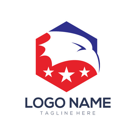 Political logo and icon design suitable for your business, company, and personal branding Çizim