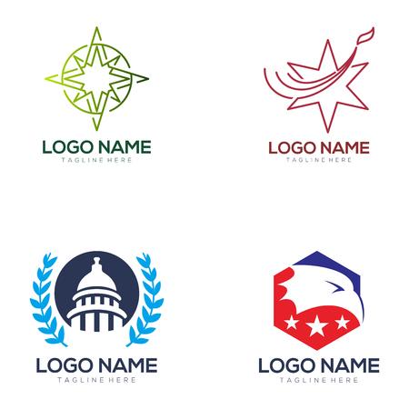 Logo politique et conception d'icônes adaptés à votre entreprise, votre entreprise et votre image de marque personnelle