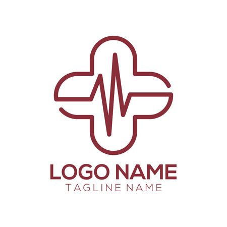 Medical Logo and icon design suitable for your business, company and personal branding 일러스트