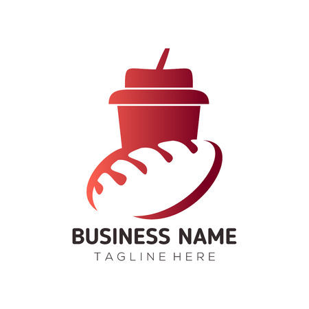 Food and drink logo and icon design suitable for your business, company or personal branding