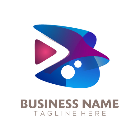 Home Video Production logo and icon design suitable for your business, company and personal branding